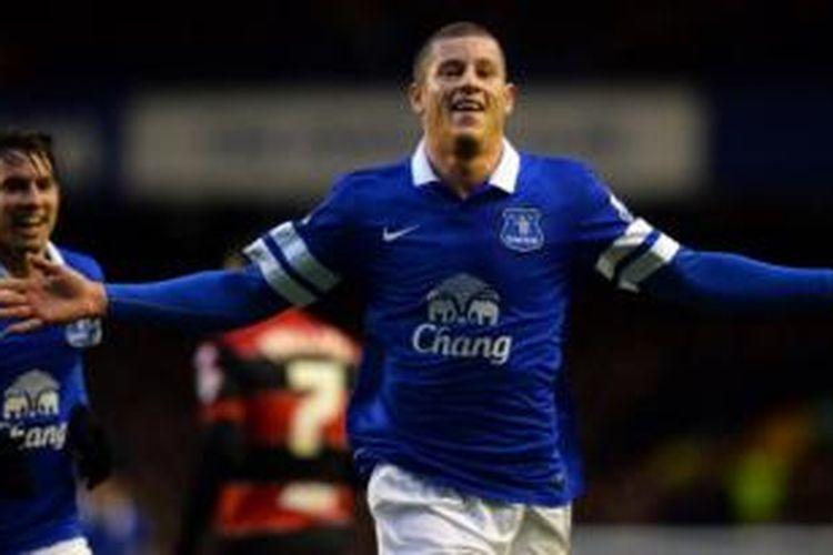 Gelandang Everton, Ross Barkley.