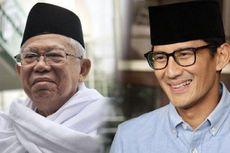 Soal Instrumen Memantau Dana Transfer Daerah Pendidikan, Ini Jawaban Ma'ruf Amin dan Sandiaga Uno