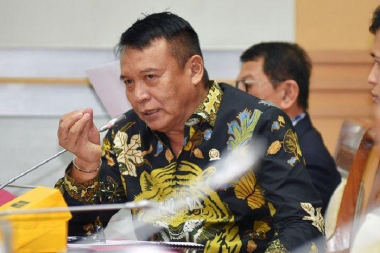 Komisi I Dewan Perwakilan Rakyat (DPR) RI TB. Hasanuddin.