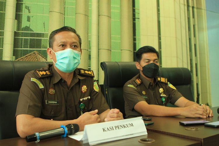Kepala Seksi Penerangan dan Hukum (Kasi Penkum) Kejati Sumatera Selatan Khaidirman.