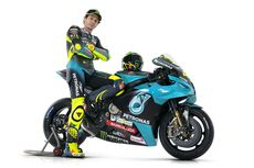 Perasaan Rossi Tampil dengan Warna Baru bareng Petronas Yamaha SRT di Tes MotoGP Qatar