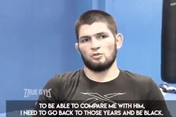 Juara UFC, Khabib Nurmagomedov, berbicara mengenai perbandingan dengan Muhammad Ali.