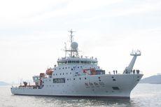 Bakamla Berhasil Intersep Kapal Survei China di Selat Sunda, Giring Hingga Keluar ZEEI