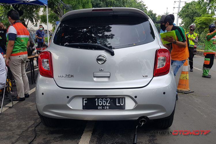 Uji Emisi Kendaraan Gratis jelang implementasi sanksi pada 24 Januari 2021