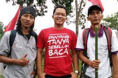 Ingin Patahkan Stigma Buruk terhadap ODHA, Gareng Jalan Kaki Keliling Indonesia