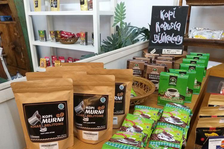 Beragam jenis kopi nusantara dipamerkan dalam Rembug Kopi di gedung SMESCO, Jakarta, 20-22 September 2019