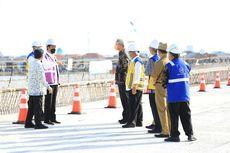 Jokowi Tinjau Pembangunan Tol Semarang-Demak, Diharapkan Kurangi Macet dan Cegah Rob