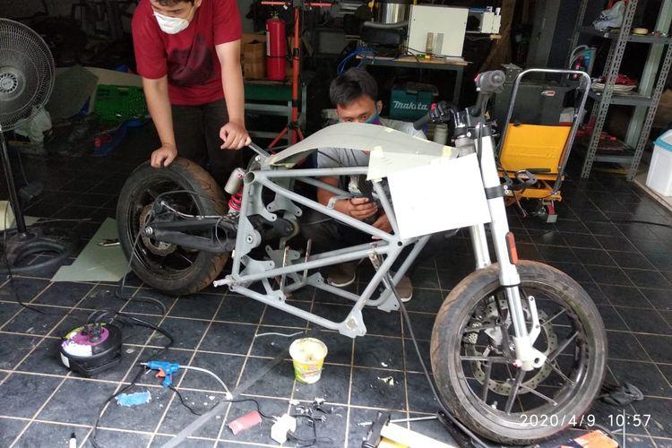 Motor listrik Greta garapan Adi Cahya