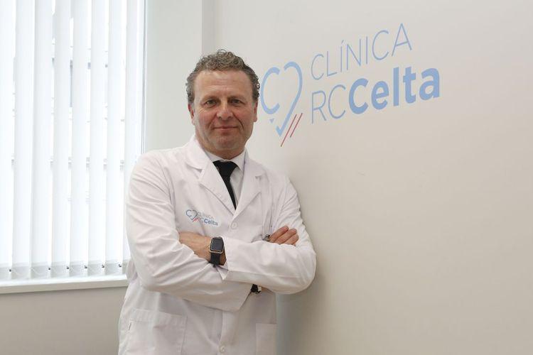 Dokter Cota dari tim Liga Spanyol, RC Celta Vigo.