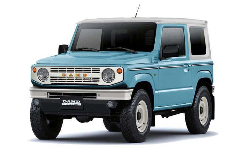 Suzuki Jimny bergaya Ford Bronco garapan DAMD