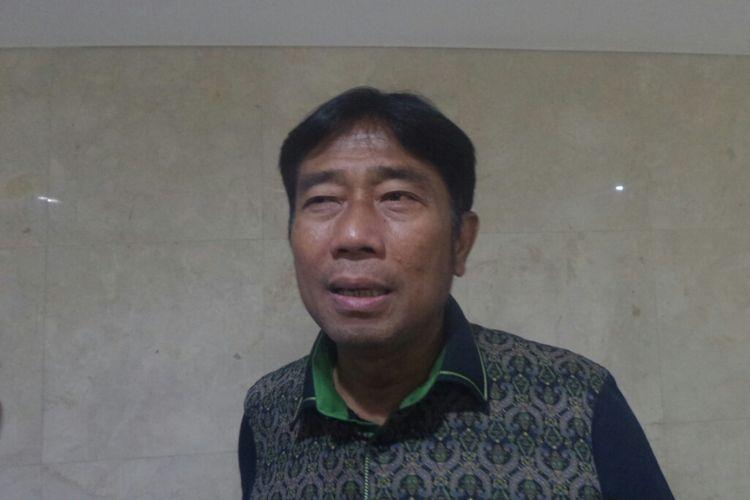 Wakil Ketua DPRD DKI Jakarta Abraham Lunggana di Gedung DPRD DKI, Jalan Kebon Sirih, Senin (13/3/2017).