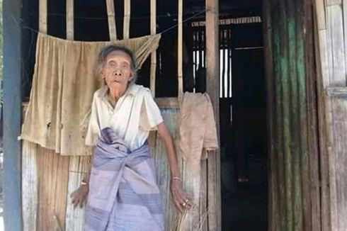 Fakta di Balik Nenek Luspina Hidup Menahan Lapar Digubuk Reyot Tanpa Listrik