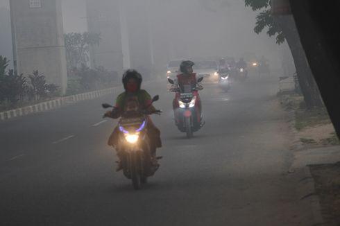 Palembang Diselimuti Kabut Asap Ekstrem, Alat Pemantau Kualitas Udara Mendadak Rusak