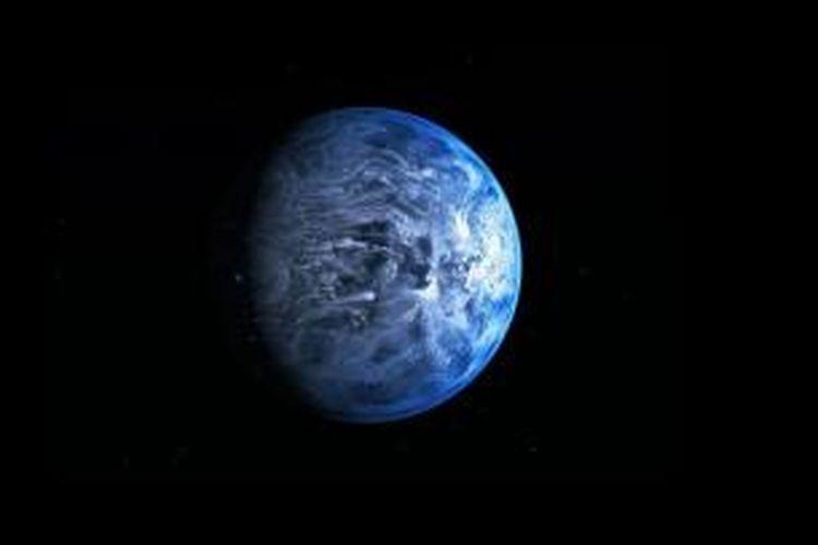 Planet HD 189733b ternyata punya warna biru seperti Bumi