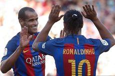 Rivaldo: Semoga Ronaldinho Bisa Melewati Masa Sulitnya