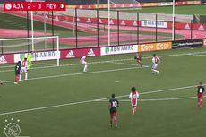 Gol Salto Anak Robin van Persie Bawa Feyenoord Menang Besar Atas Ajax
