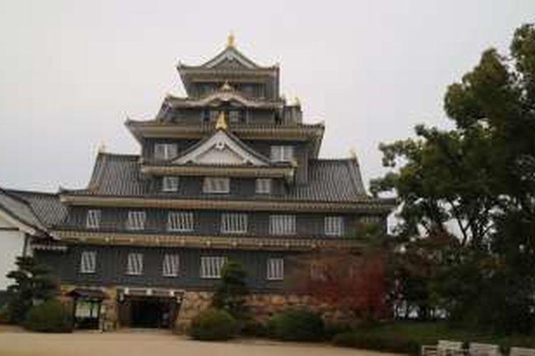 Kastil Okayama, Jepang.