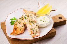 Resep Ikan Panggang dengan Taburan Keju dan Lemon