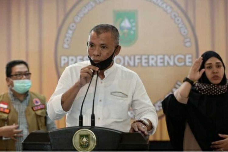 Kepala Dinas Pendidikan Provinsi Riau Zul Ikram.