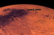 Pesawat Ruang Angkasa ESA Tangkap Awan Misterius di Atas Gunung Berapi Mars, Apa Itu?