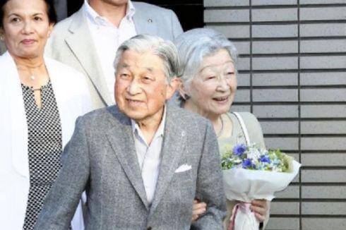 Kaisar Emiritus Jepang Akihito Muncul Pertama Kali sejak Turun Takhta