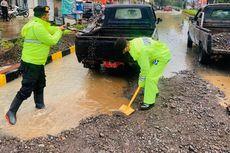 Banjir di Cianjur Merendam Rumah, Jembatan dan TPT Ambruk