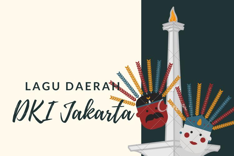 Ilustrasi lagu daerah DKI Jakarta