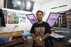 Kisah Mantan Anak Jalanan yang Kini Menjadi Pengusaha Sukses Sablon