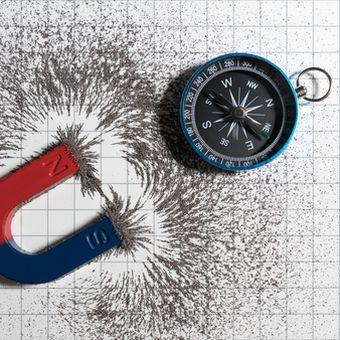 Ilustrasi sifat magnet