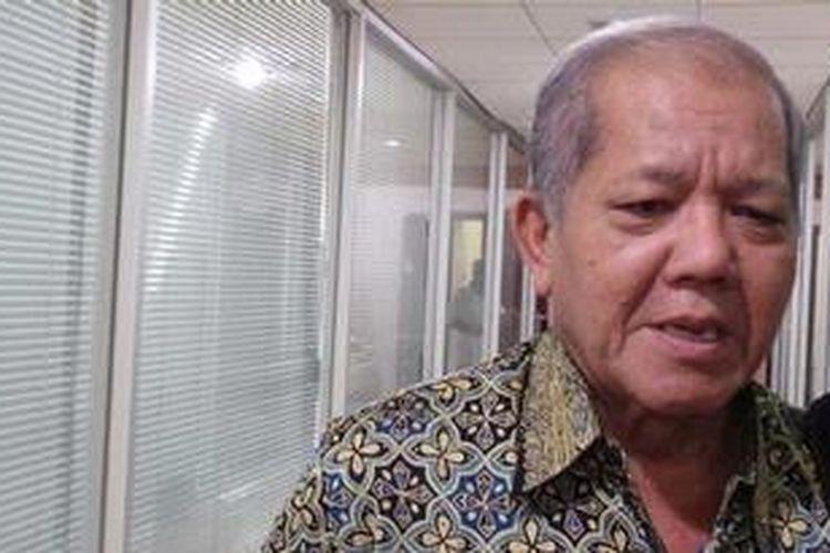 Ketua Badan Legislasi DPR Ignatius Mulyono yang juga politisi senior Partai Demokrat
