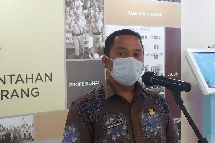 Wali Kota Tangerang Arief Wismansyah saat ditemui di Gedung Pusat Pemerintahan Kota Tangerang, Kamis (16/7/2020).