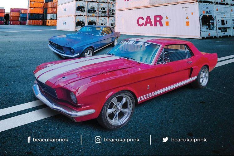 Lelang mobil muscle car