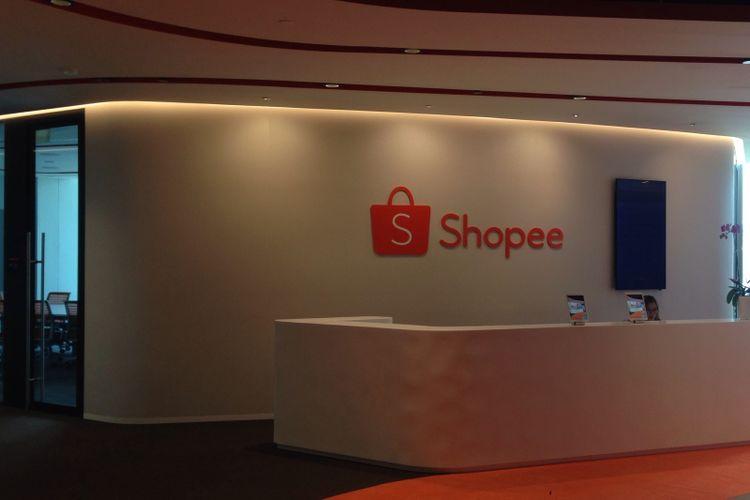 Kantor Pusat Shopee di Singapura.