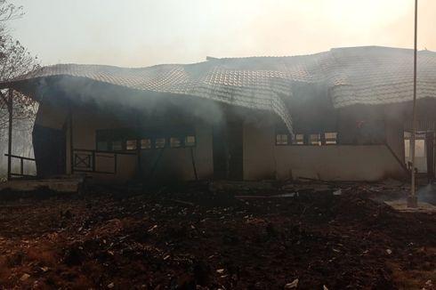 Satu Bangunan SD Ludes Dilalap Api dari Kebakaran Hutan dan Lahan