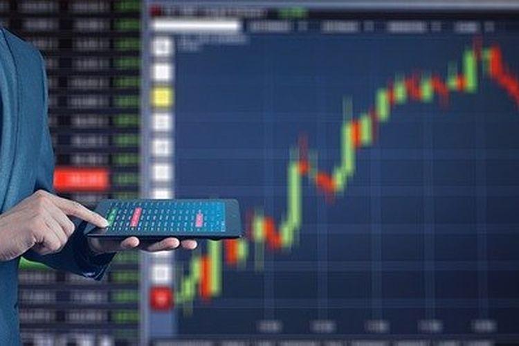 Ilustrasi pergerakan saham dan pelaku pasar (Pixabay)