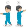 Kombinasi Langkah Kaki dan Gerakan Ayunan Lengan