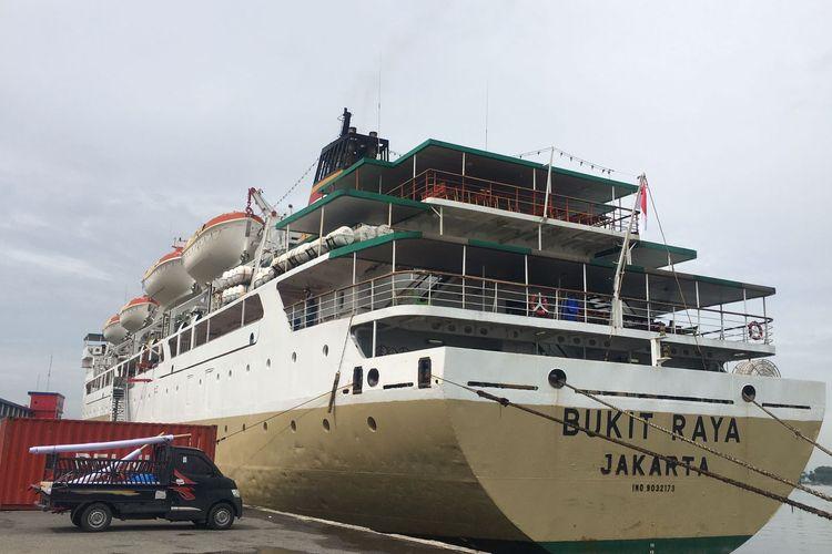 KM Bukit Raya yang tiba di Pelabuhan Belawan, Kota Medan pada Senin lalu, sudah bisa difungsikan sebagai tempat isolasi terpusat  mulai Jumat (20/8/2021)
