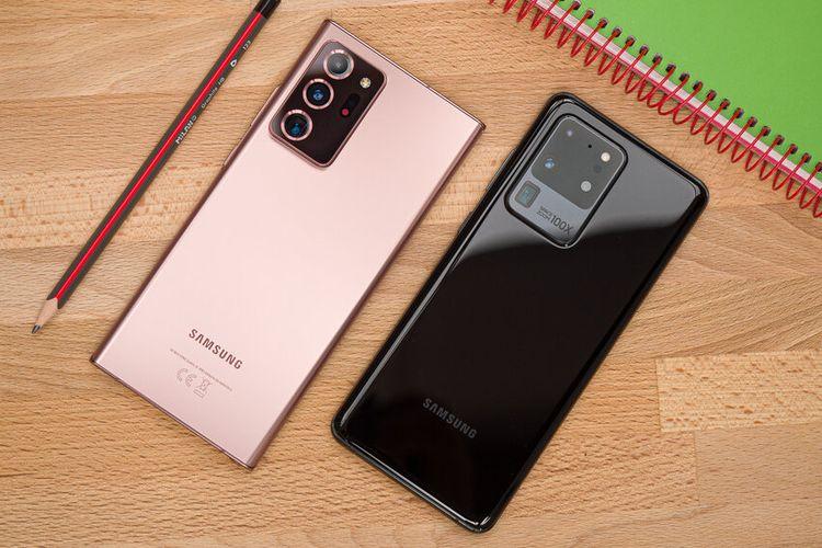 Samsung Galaxy Note 20 Ultra dan Galaxy S20 Ultra