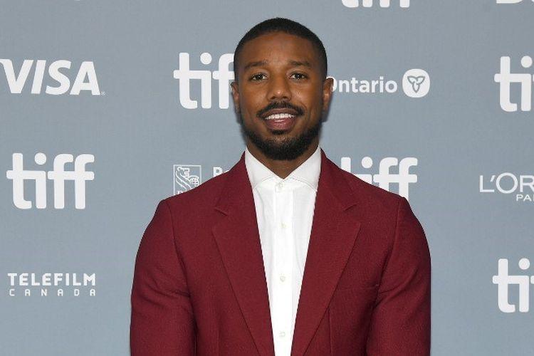 Aktor Michael B Jordan menghadiri konferensi pers film Just Mercy pada perhelatan 2019 Toronto International Film Festival di TIFF Bell Lightbox, Toronto, Kanada, pada 7 September 2019.