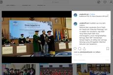 Sang Kakak Wakili Terima Ijazah Nurul Faqih, Mahasiswa UIN yang Tewas dalam Kecelakaan