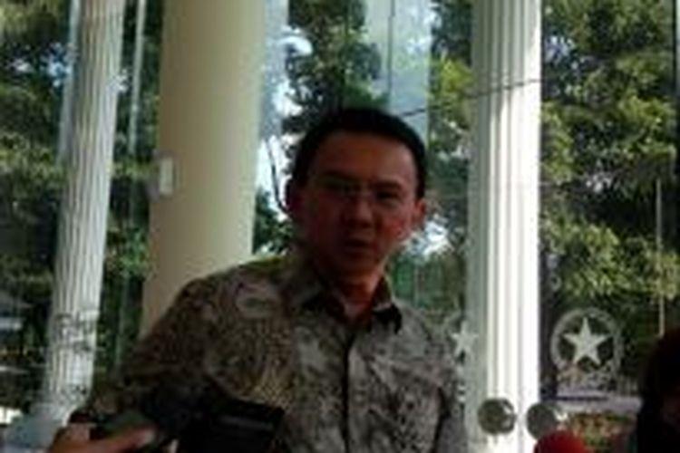 Gubernur DKI Jakarta Basuki Tjahaja Purnama.