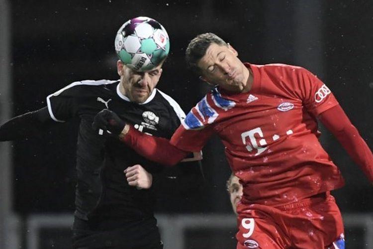 Duel Holstein Kiel Vs Bayern Muenchen pada putaran kedua DFB Pokal, Kamis (14/1/2021) dini hari WIB.