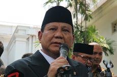 Usai Dilantik Jokowi, Ini Agenda Pertama Menhan Prabowo Subianto