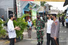 Jokowi Sidak ke Cempaka Putih, Pastikan PPKM Mikro Berjalan
