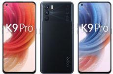 Oppo K9 Pro 5G Meluncur 26 September, Ini Bocoran Tampang dan Spesifikasinya