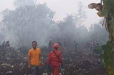 Karhutla di Riau Dekati Perumahan Warga, Jarak ke Titik Api 15 Meter