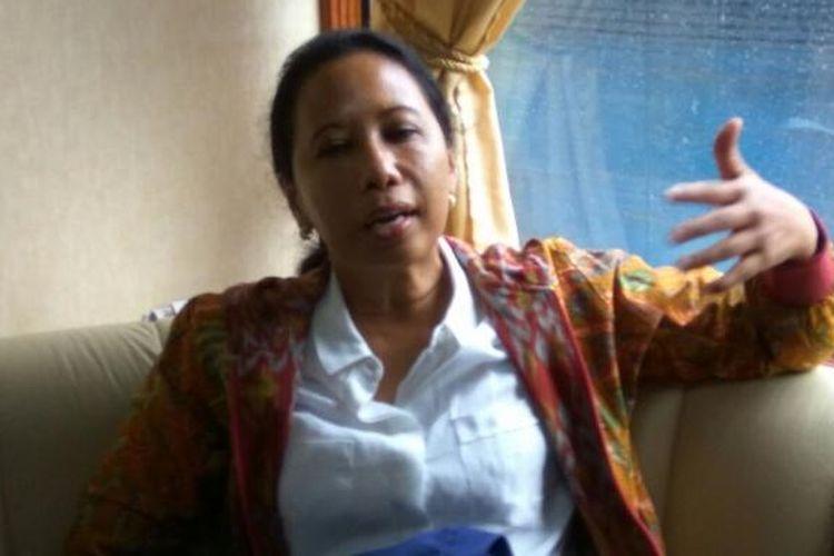 Menteri Badan Usaha Milik Negara (BUMN) Rini Soemarno