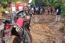 Pemadaman Kebakaran di Kutai Timur Terhalang Jalan Rusak