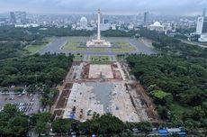 Setelah Revitalisasi, Monas Bakal Punya Kolam Seluas Lapangan Bola hingga Plaza Upacara