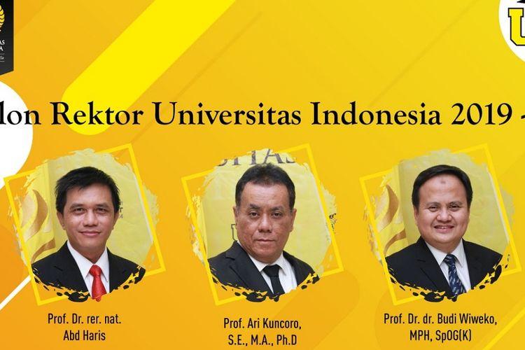 Pemilihan rektor Universitas Indonesia (UI) periode 2019-2024.